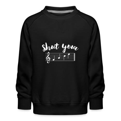 ShutYourFace diap - Kinderen premium sweater