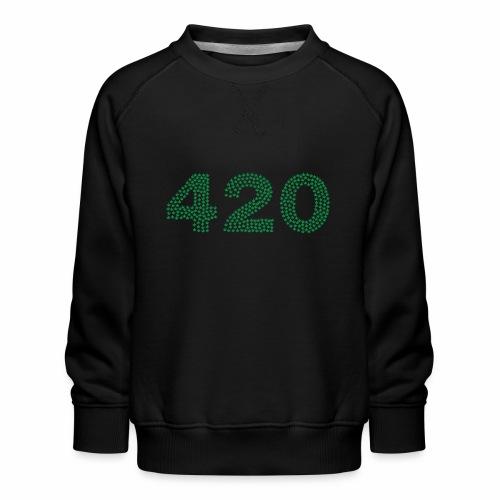 420 - Felpa premium da bambini