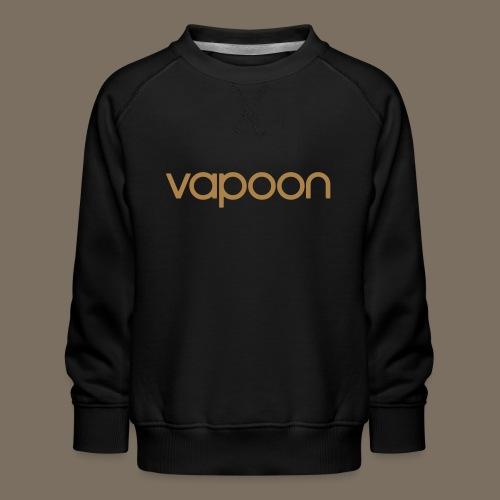 Vapoon Logo simpel 01 - Kinder Premium Pullover