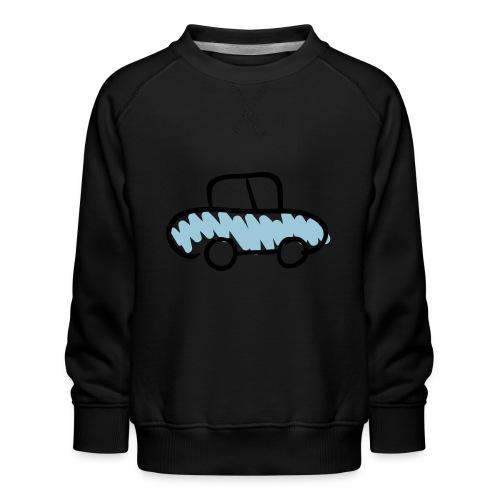Car Line Drawing Pixellamb - Kinder Premium Pullover