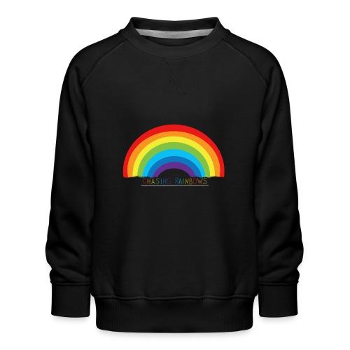 chasing rainbows - Sudadera premium para niños y niñas