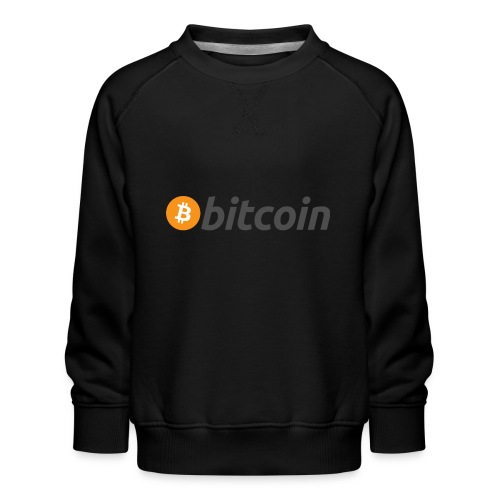 bitcoin MOON - Kinder Premium Pullover