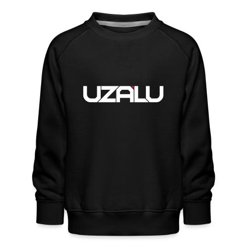 uzalu Text Logo - Kids' Premium Sweatshirt