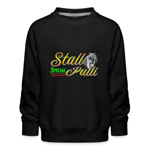 Special Edition Stall Pulli Reiten Pferd Geschenk - Kinder Premium Pullover