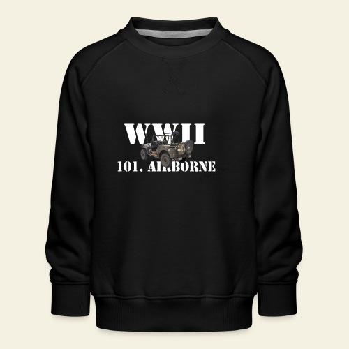 101 airborne png - Børne premium sweatshirt