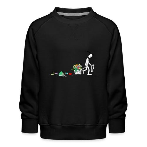 frukt og grønt handleveske - Premium-genser for barn