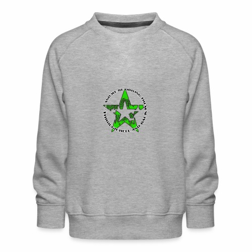 ra star slogan slime png - Kinder Premium Pullover