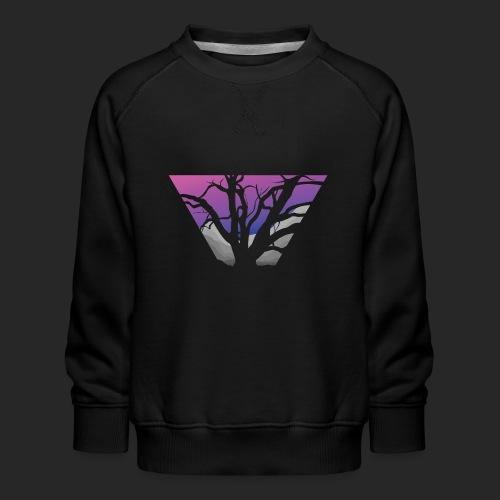 Purple Branches - Kids' Premium Sweatshirt