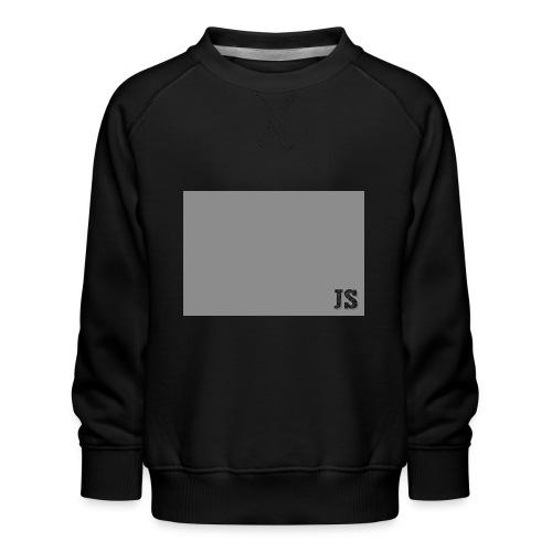 JustSquares Grijs - Kinderen premium sweater