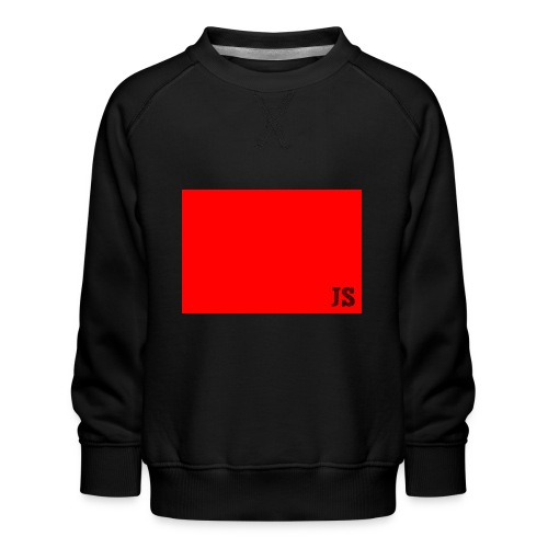 JustSquares Rood - Kinderen premium sweater