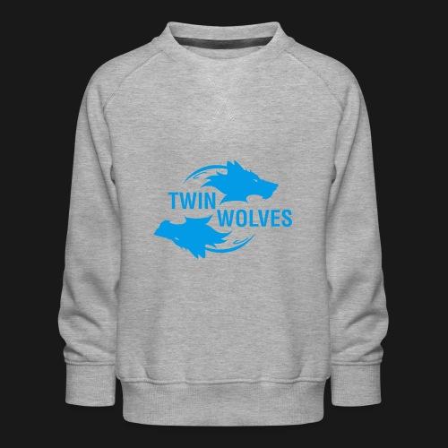 Twin Wolves Studio - Felpa premium da bambini