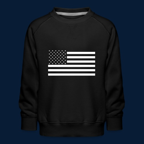 Stars and Stripes White - Kinder Premium Pullover