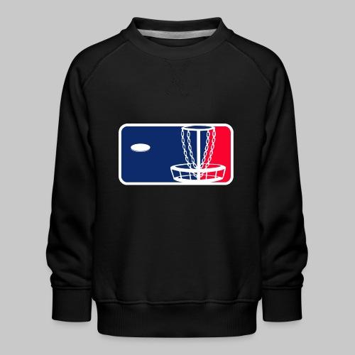Major League Frisbeegolf - Lasten premium-collegepaita