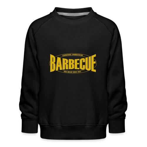 Barbecue Grillwear since 2017 - Grillshirt - T-Shi - Kinder Premium Pullover
