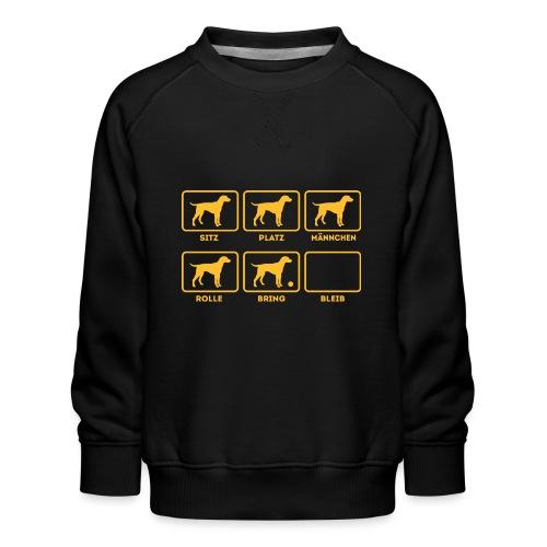 Für alle Hundebesitzer mit Humor - Kinder Premium Pullover