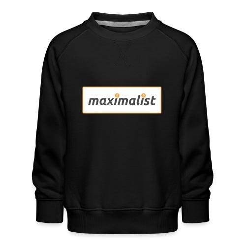 Bitcoin Maximalist - Kids' Premium Sweatshirt
