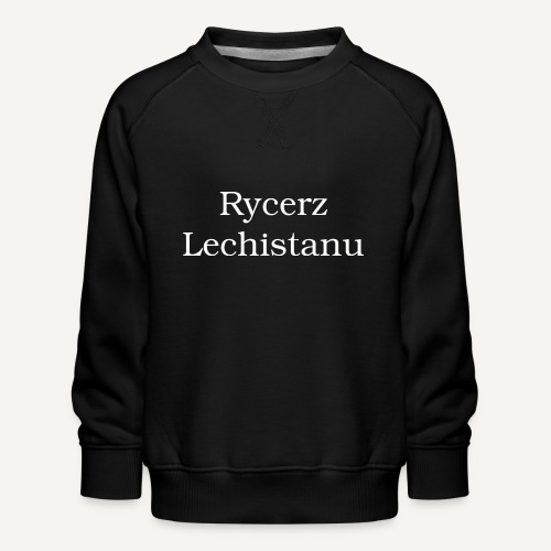 rycerz - Bluza dziecięca Premium