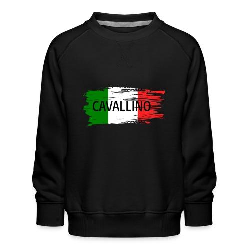 Cavallino auf Flagge - Kinder Premium Pullover