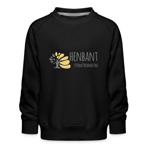henbant logo - Kids' Premium Sweatshirt