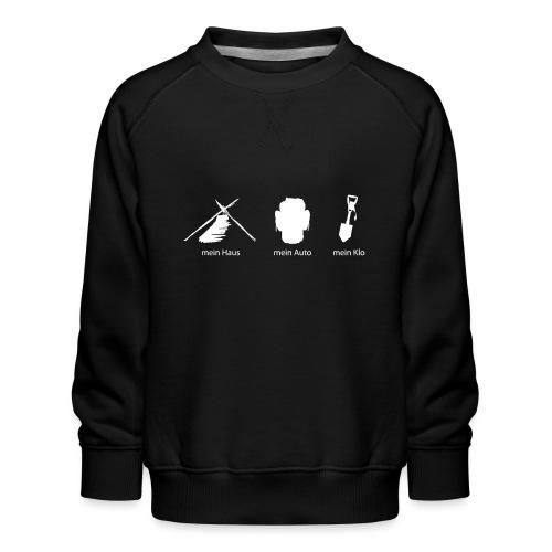 Haus Auto Klo - Kinder Premium Pullover