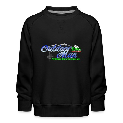 Special Edition Outdoor Man Wandern Vatertag - Kinder Premium Pullover
