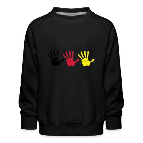 Handabdruck Trio - Kinder Premium Pullover