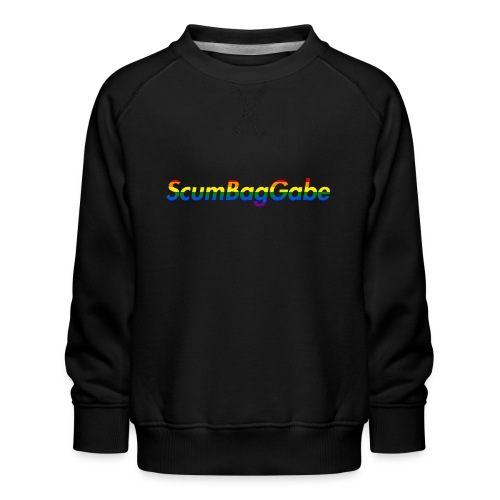 ScumBagGabe Multi Logo XL - Kids' Premium Sweatshirt