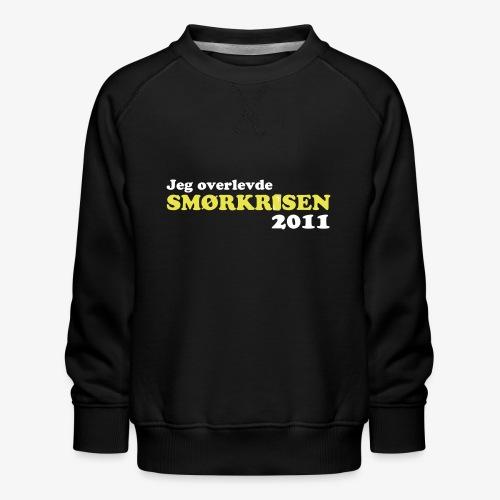 Smørkrise 2011 - Norsk - Premium-genser for barn