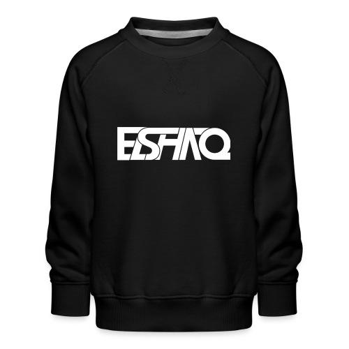 elshaq white - Kids' Premium Sweatshirt