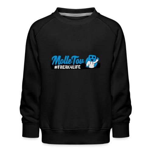 Nyt Logo4 - Børne premium sweatshirt
