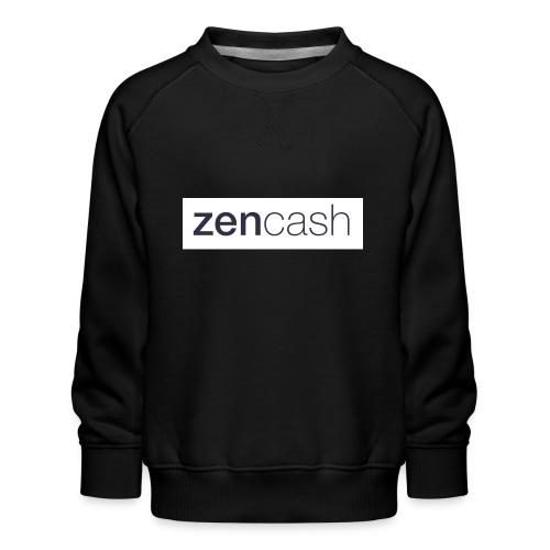 ZenCash CMYK_Horiz - Full - Kids' Premium Sweatshirt