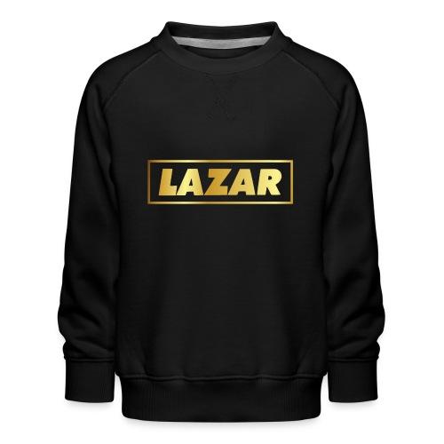 00397 Lazar dorado - Sudadera premium para niños y niñas