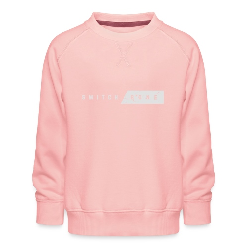 Switchbone_white - Kinderen premium sweater