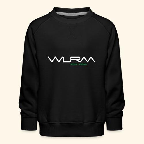 WLRM Schriftzug white png - Kinder Premium Pullover