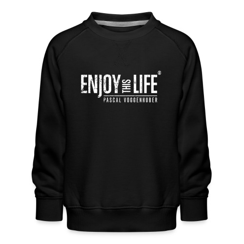 Enjoy this Life® Classic weiss Pascal Voggenhuber - Kinder Premium Pullover