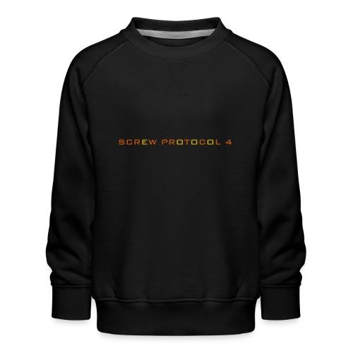 ScrewP4 Final - Kids' Premium Sweatshirt