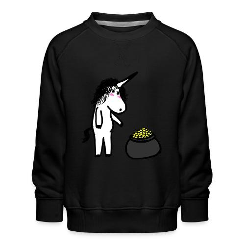 Oro unicorno - Felpa premium da bambini