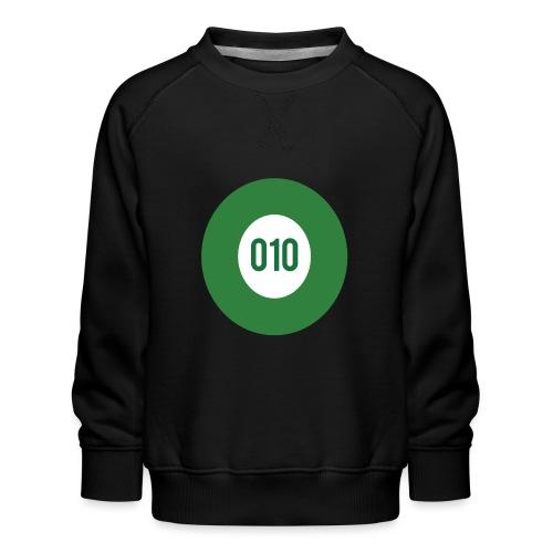 010 logo - Kinderen premium sweater