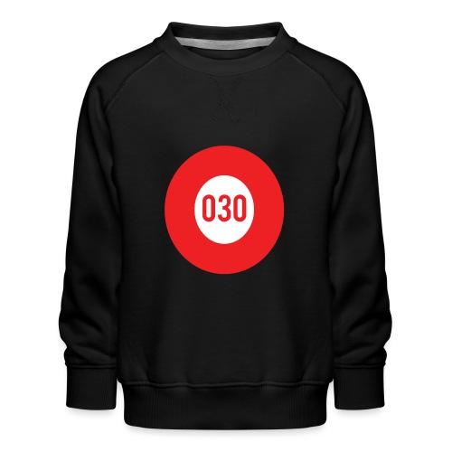 030 logo - Kinderen premium sweater