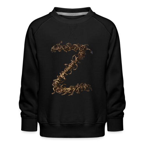 Barbwire Z - Yellow Gold - ZDesign - Kinder Premium Pullover