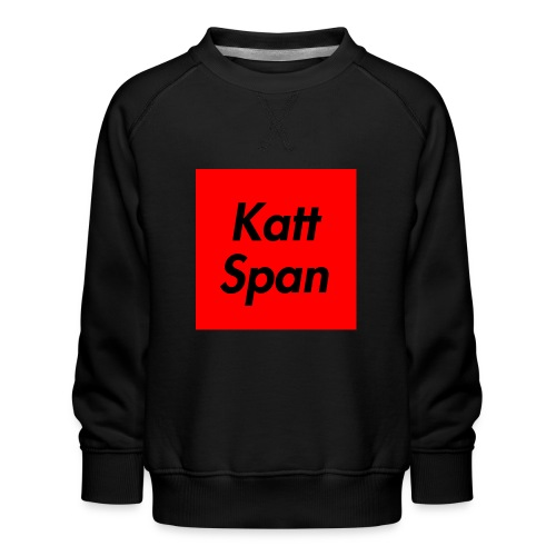 Katt Span - Kids' Premium Sweatshirt