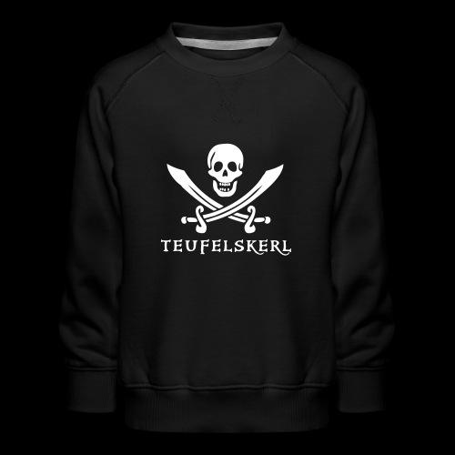 ~ Teufelskerl ~ - Kinder Premium Pullover