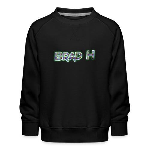 Official Brad H Logo - Kids' Premium Sweatshirt