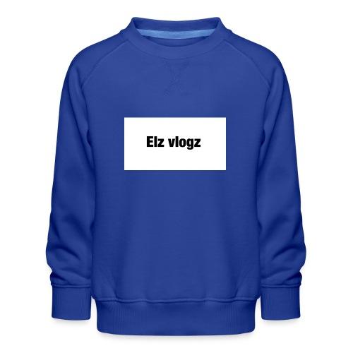 Elz vlogz merch - Kids' Premium Sweatshirt