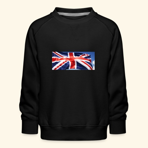 UK flag - Kids' Premium Sweatshirt