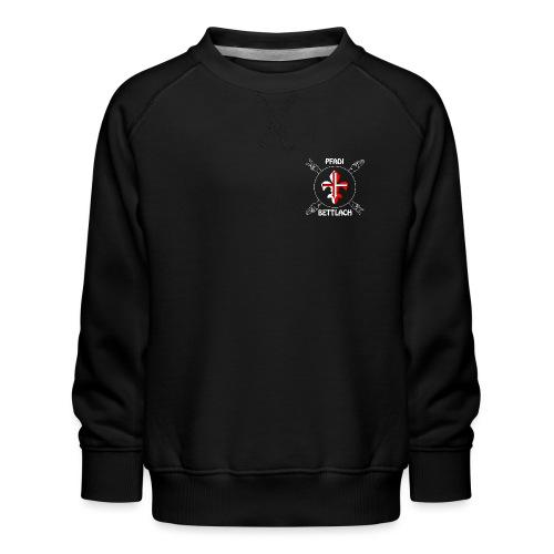 Logo weiss - Kinder Premium Pullover