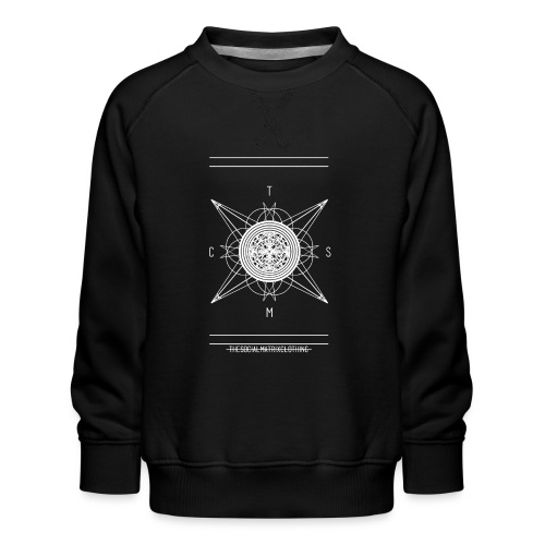 DE PIONEER [WIT] - Kinderen premium sweater