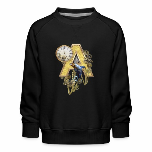 Alphabet-Capital A - Kids' Premium Sweatshirt