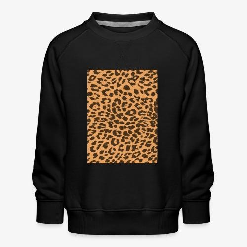 Leopardo - Felpa premium da bambini