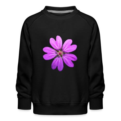 TIAN GREEN Garten - Storchschnabel 2020 01 - Kinder Premium Pullover